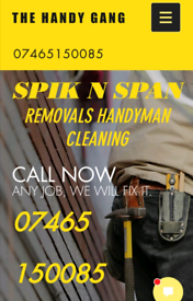 Gardening/ handyman/ cleaning services