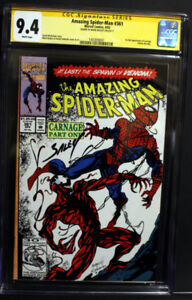 Amazing Spider-Man #361  9.4 Signature Series