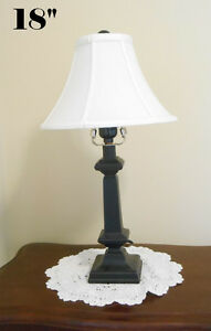Each table lamp  $12.00