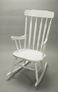 Solid Wood Adult Size Rocking Chair