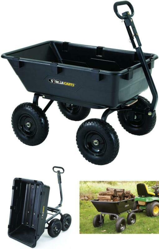 dump cart for lawn tractor garden