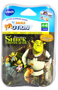 VTECH V.SMILE MOTION ACTIVE LEARNING GAMES SHREK (BNIP) - FJN