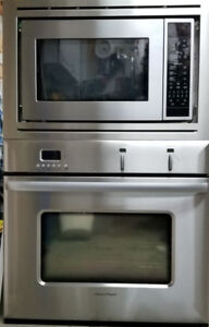 Fisher Paykel Wall Oven, DCS Microwave . AEG Induction Cooktop