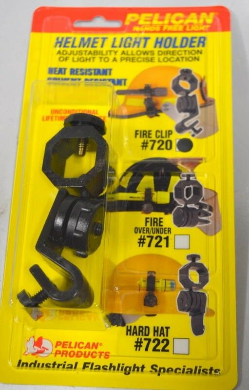 Pelican Helmet Light Holder #720 Hard Hat - Hands free light.