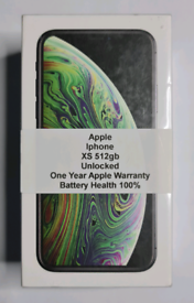 Brand New Apple Iphone XS 512gb Unlocked Open To All Networks Work Any