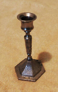 Vintage Indian Brass Candlestick