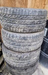 Rare low profile 245/40/R18 set of 4 tires