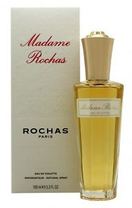 ROCHAS MADAME ROCHAS EAU DE TOILETTE 100ML SPRAY - WOMEN'S FOR HER. NEW