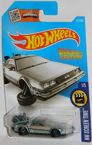 Hot Wheels 1/64 Scale Back To The Future Hover Mode Diecast Car