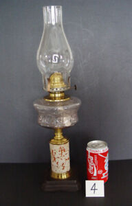 Oil Lamp 4 - Pedestal with Pottery/Ceramic Column