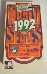 1992 World Series VHS Tape