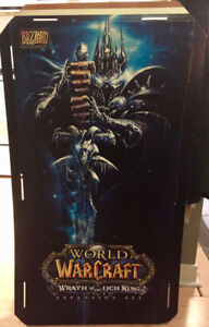 "World of Warcraft Lich King Display Stand 22""x45"""