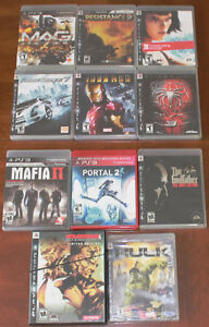 PS3, Xbox 360 & PS2 Games