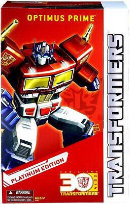 "Transformers Masterpiece Optimus Prime ""Year of the Horse"" Platinum Edition"