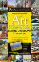 Calgary Artists Society Art Show and Sale
