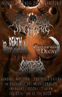 Death Perception invites you to Our Place May 20th