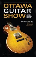 "5th Annual ""Ottawa Guitar Show"" and Musician's Market"
