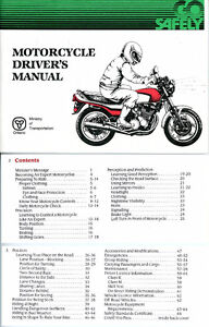 FREE. Motorcycle Driver's Manual & Safety Tips.
