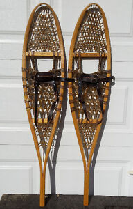 Brand new GV traditional 10 X 46 wood snowshoes – Raquettes bois Gatineau Ottawa / Gatineau Area image 1