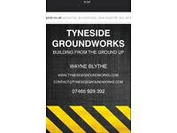 TYNESIDE GROUNDWORKS, BUILDING FROM THE GROUND UP.