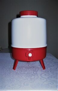 Vintage Picnic Camping Insulated Thermos 1 gallon