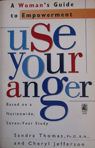 Book - Use your anger – A woman's guide to empowerment