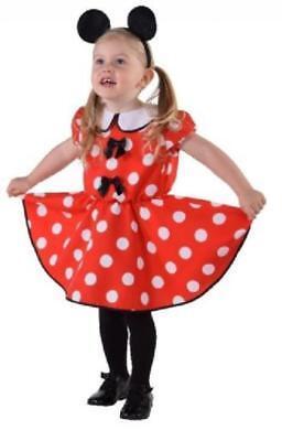 Micky Mickey Minny Minni Minnie Maus Mouse Disnay Kleid Kostüm Kinder Baby Reif ()