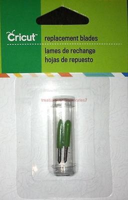 2 Cricut  REPLACEMENT BLADES 290002 Durable & Designed for Sharp, Precise Cuts