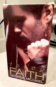 GEORGE MICHAEL FAITH VHS