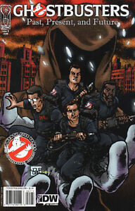 """Ghostbusters """"Displaced Aggression"""" and One-shot Comics"""