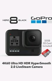 BRAND NEW GoPro HERO8 Black