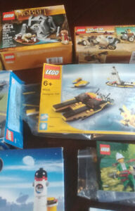 8 SMALLER LEGO SETS COMPLETE - SOME SEALED $50 FOR THE LOT