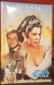 "STAR WARS JOURNAL - 1994 - Princess Leia "" Unused"