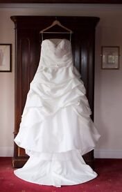 Forever Yours Ivory Size 18 Wedding Dress