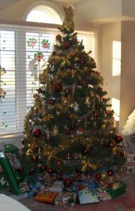 9 ft Christmas tree
