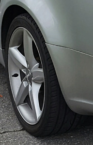 """4 Mags audi a4 b8 5x112 18"""" avec Spacer"""