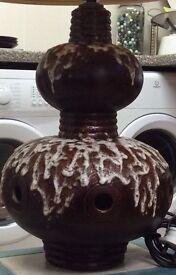 Large retro lava lamp