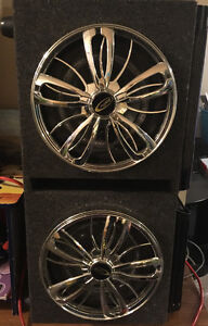 Spinning subs with 2 amps