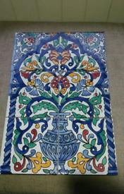 New tile fresco Vintage