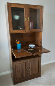 Very Sturdy Cabinet / Hutch / Dry Bar / Stand -Perfect Condition