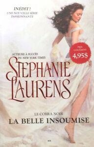 Livres romance Stéphanie Laurens & Suspense Carlene Thompson