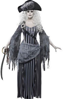 Geisterschiff Prinzessin Kostüm NEU - Damen Karneval Fasching Verkleidung -