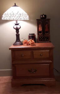 Wood Solid Night Stand