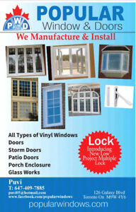 Windows and Doors installation at factory price-free estimate