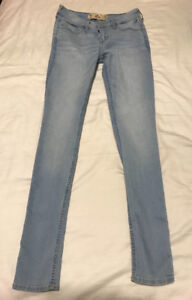 Light Wash Skinny Jeans from Hollister