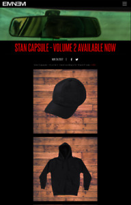 Eminem Shady Limited Edition black Friday Stan Hoodie and Hat