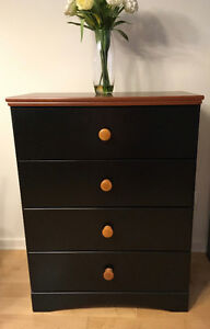 3-piece wood dresser with mirror set - Priced 2 sell