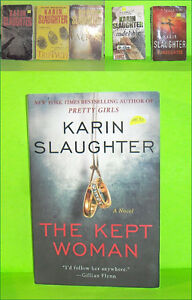 Lot of 6 Karin Slaughter Mystery Paperback Pocket Novels