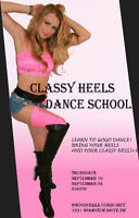 CLASSY HEELS Dance School Workshop