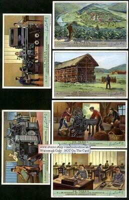 The Semois Valley France Tobacco Story  6 Nice 1930s Y/O Trade Ad Cards d'occasion  Expédié en Belgium
